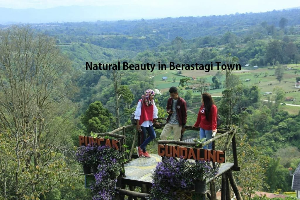 Natural Beauty in Berastagi Town